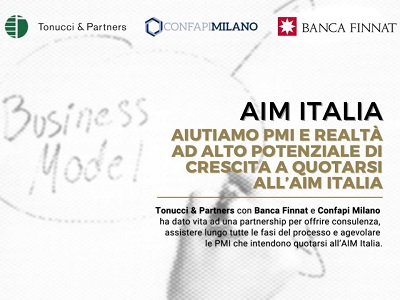 Vuoi conoscere i vantaggi di quotarsi all'AIM ITALIA? Parlane con noi!