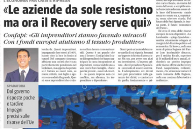 Il Recovery serve in Lombardia