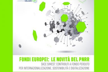 18 ottobre, evento Zoom sui nuovi finanziamenti gestiti da SACE-SIMEST