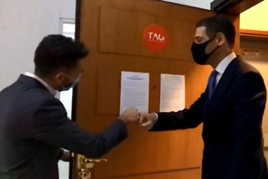 Nicola Spadafora visita l'associata TAG